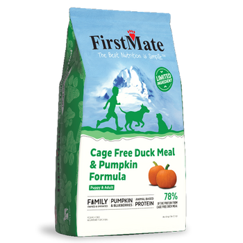 Cage Free Duck With Pumpkin Dry Dog Food