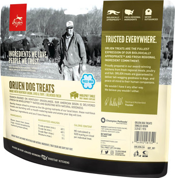 Plains Bison Freeze-Dried Dog Treats