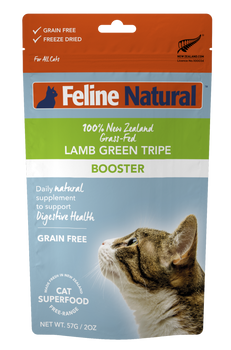 Lamb Green Tripe Freeze Dried Booster for Cats