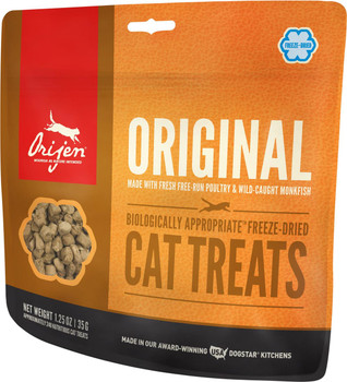 ORIJEN FREEZE-DRIED ORIGINAL CAT TREATS