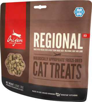 ORIJEN FREEZE-DRIED REGIONAL RED CAT TREATS