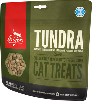 ORIJEN FREEZE-DRIED TUNDRA CAT TREATS