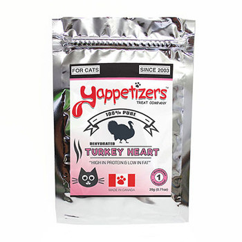 Dehydrated Turkey Heart Dog & Cat Treat