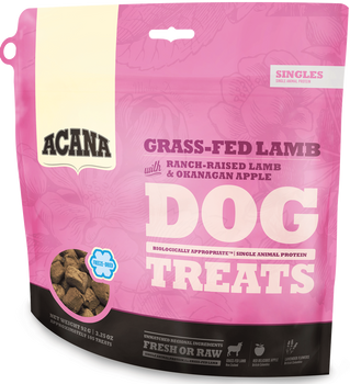 ACANA FREEZE-DRIED SINGLES LAMB & APPLE DOG TREATS