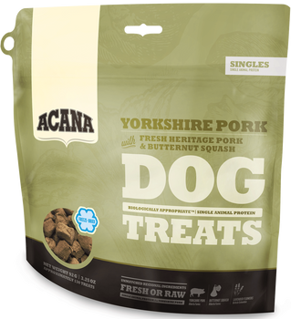 ACANA FREEZE-DRIED SINGLES PORK & SQUASH DOG TREATS