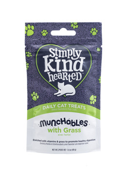 Digestive Grass Munchables Treats For Cats