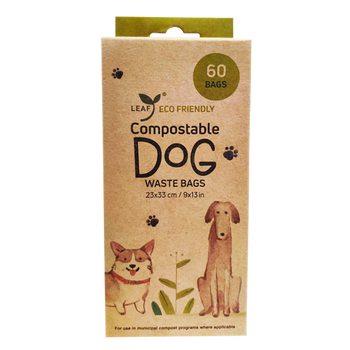 Unscented Eco-Friendly Compostable Poop Bags