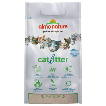 All-Natural Compostable, Biodegradable and Flushable Cat Litter