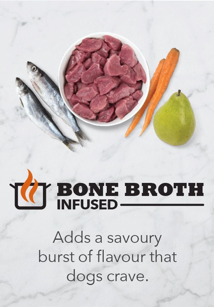 Duck with Turkey & Chicken Liver Freeze-Dried Bone Broth Infused High Protein Patties