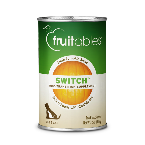 Switch™ Food Transition Supplement Pumpkin Puree For Dogs & Cats, 425g