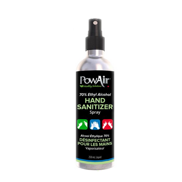 PowAir 70% Ethyl Alcohol Hand Sanitizer Spray