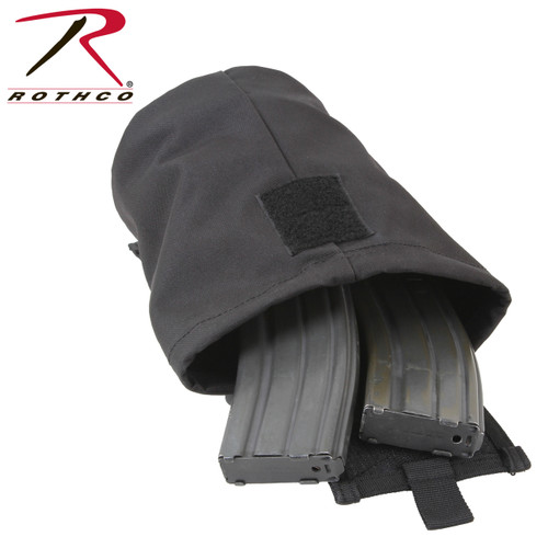 Rothco MOLLE Roll-Up Utility Dump Pouch - Black