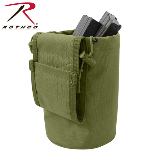 Rothco MOLLE Roll-Up Utility Dump Pouch - Olive Drab