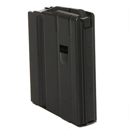 C-Products - AR10/LR-308/SR-25 Magazine .308 Win 5/10 Rounds Stainless Steel Black