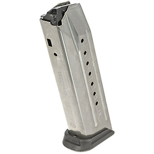Ruger American Pistol 9mm 10/17 Round Stainless Steel Magazine