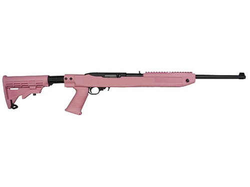 Tapco Intrafuse Ruger 10/22 Stock –- Pink
