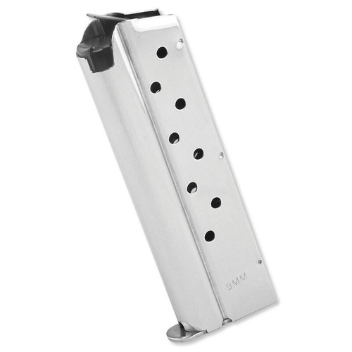 Springfield Armory 1911 9mm Luger 9 Round Stainless Steel Magazine