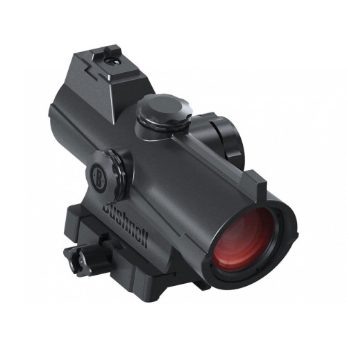 Bushnell AR Optics Incinerate Red Dot Sight - 1x 25 MOA Circle w/ 2 MOA Dot Hi-Rise Picatinny-Style Mount Matte