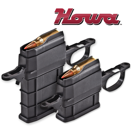 Legacy Sports Ammo Boost Detachable Magazine Kit - Howa 1500 5 Rounds | .338/7mm Long Action Floor Plate & Magazine Kit