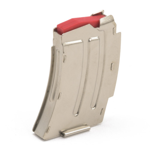 Savage/ Lakefield MKII .22LR/.17 MACH2 5 Shot Magazine - Nickel