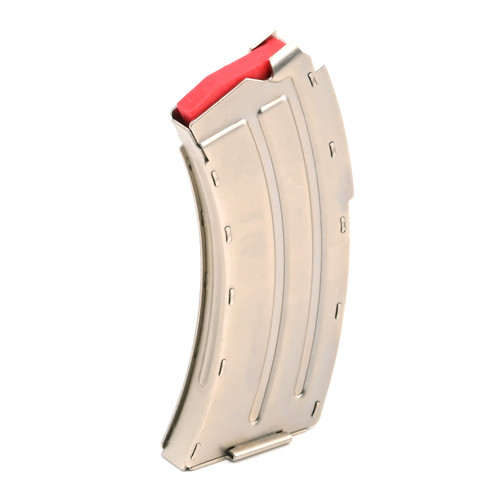Savage/ Lakefield MKII .22LR/ .17 MACH2 10 Shot Magazine - Nickel
