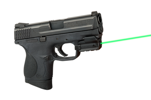 LaserMax Spartan Rail Mounted Adjustable Laser - Green