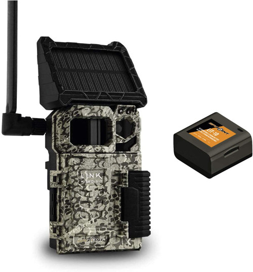 SpyPoint link-micro-s-lte solar cellular trail camera canada