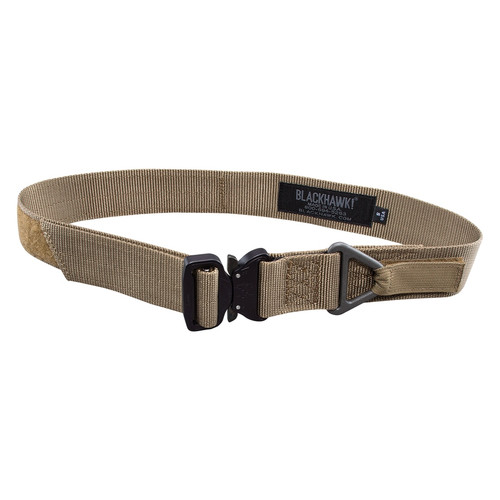 """Blackhawk Rigger's Belt w/Cobra Buckle - Coyote Tan/ Small (Up to 34"""")"""