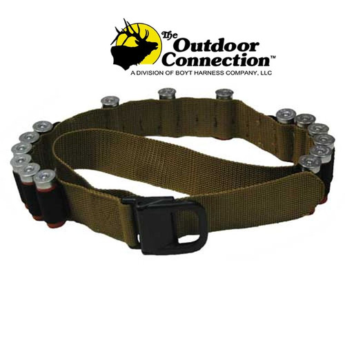 The Outdoor Connection Shotgun Shell Belt - Coyote Brown