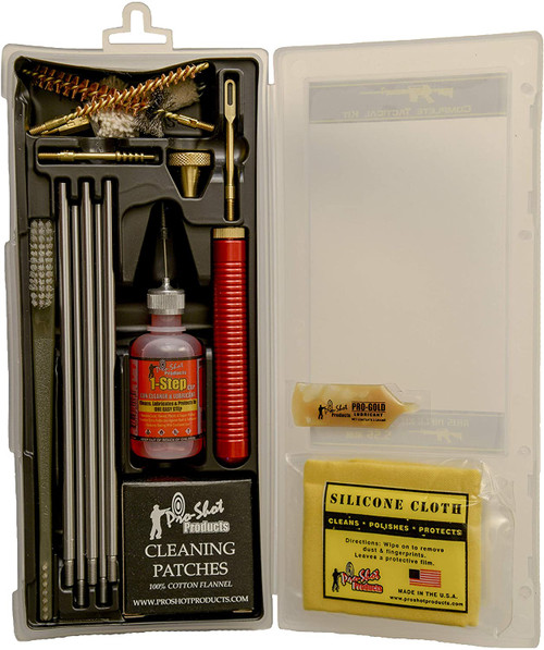Pro-Shot 5.56mm / .223 Cal. Tactical AR Rifle Classic Box Cleaning Kit