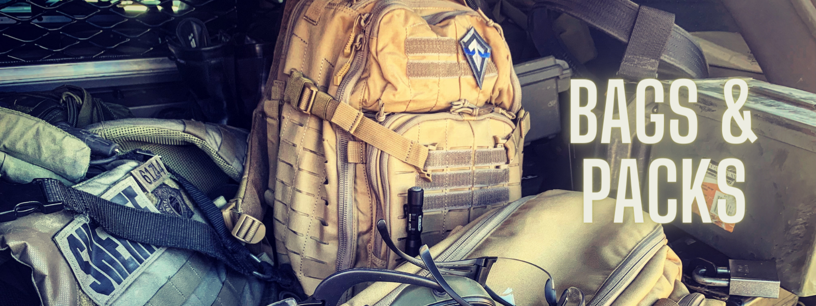 hunting packs and tactical bags