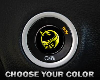 Scat Pack Start Button Overlay