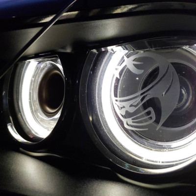 Frosted Headlight Decals