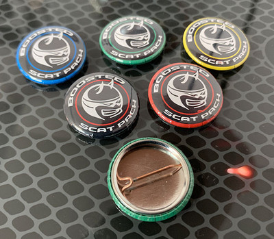 Scat Pack Button Pins