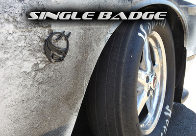 Single Scat Pack Badge
