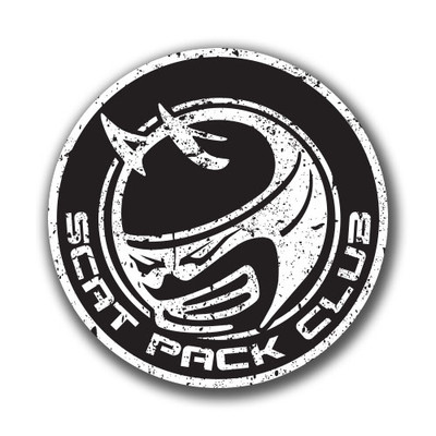 Scat Pack Club Stickers