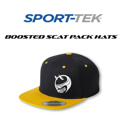 Flat Bill Scat Pack Hat Gold