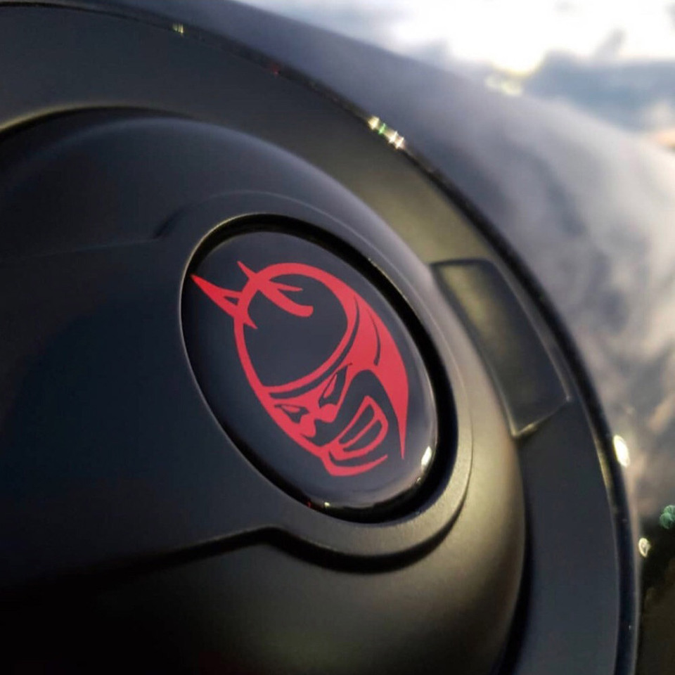 Challenger Fuel Door Overlay