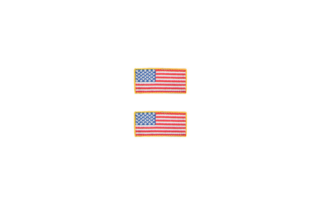 Micro United States Flag Patch (Set of 2)