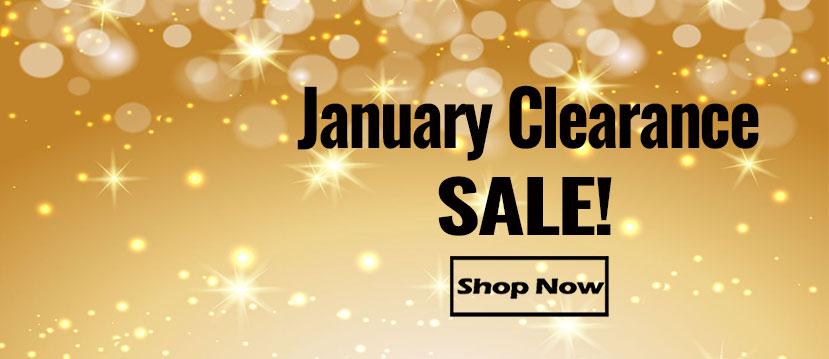 January Clearance Sale Items