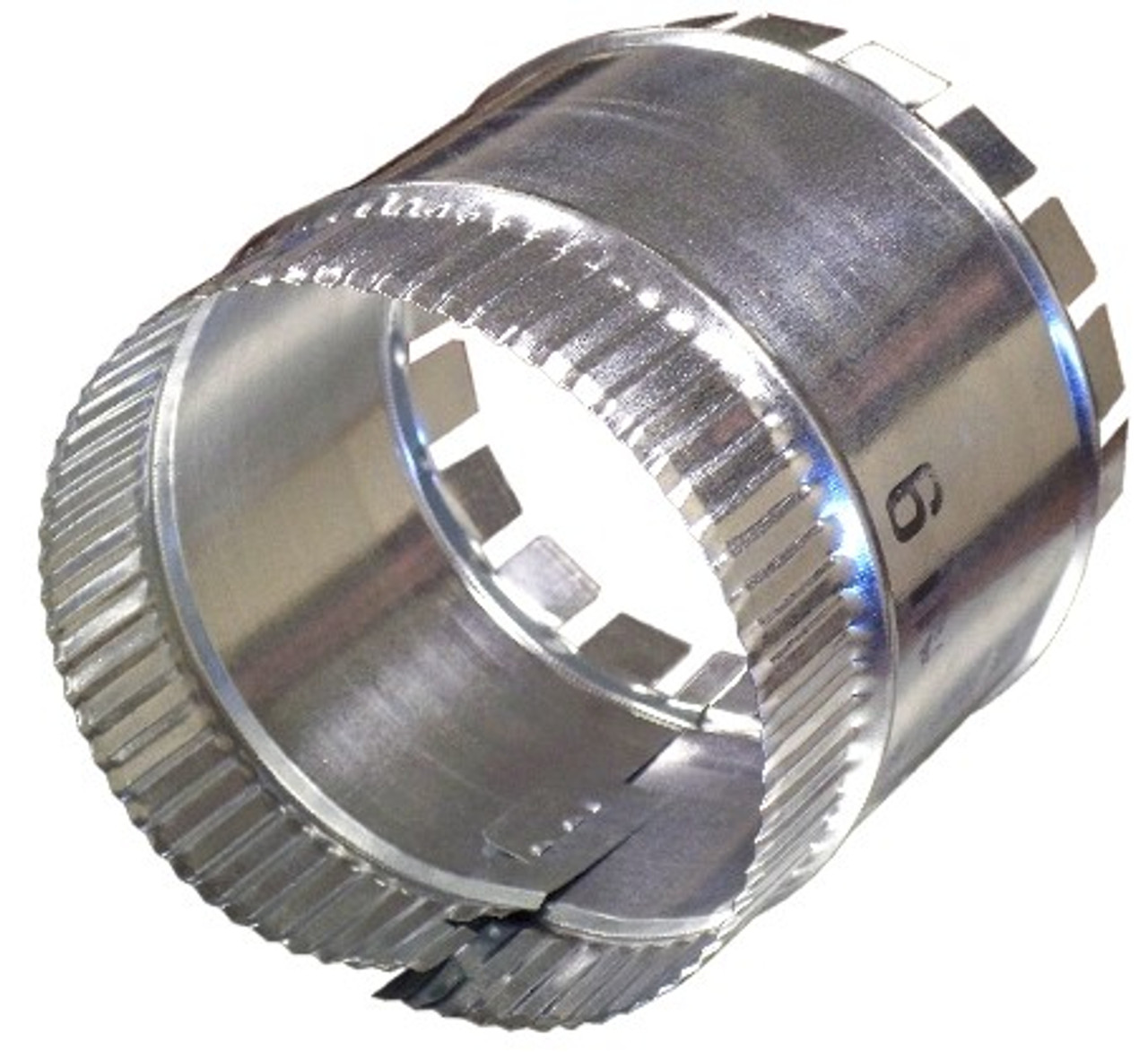 6-in Hvac Duct Manual Volume Damper with Sleeve
