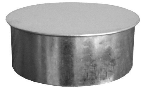 "24"" Round Sheet Metal Duct End Cap"