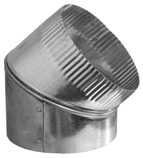 """12"""" 45 Degree Adjustable Duct Elbow"""