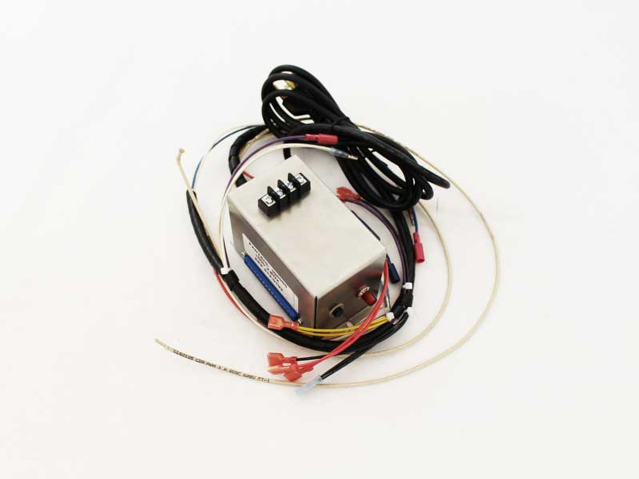 junction box w wiring harness for the quadrafire 1000 pellet stove (812 0192) Pellet Stove Safety