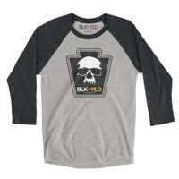 Official Skyline Skull baseball tee