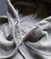 Fresh and clean hooded sweatshirt
