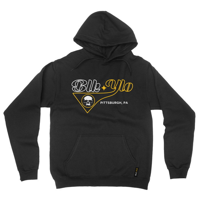 "BLKYLO ""Player"" Pullover hooded sweatshirt"