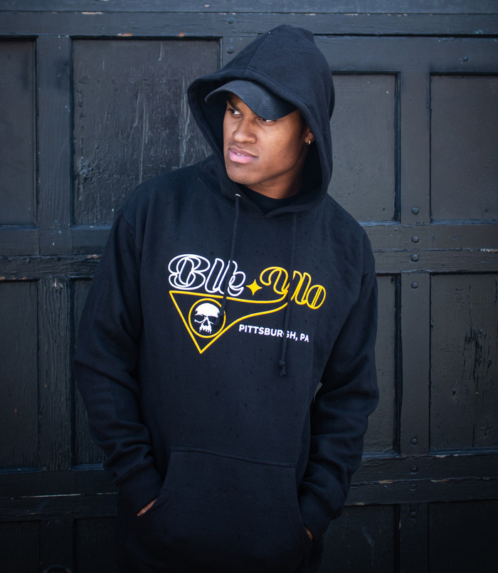 """BLKYLO """"Player"""" Pullover hooded sweatshirt"""