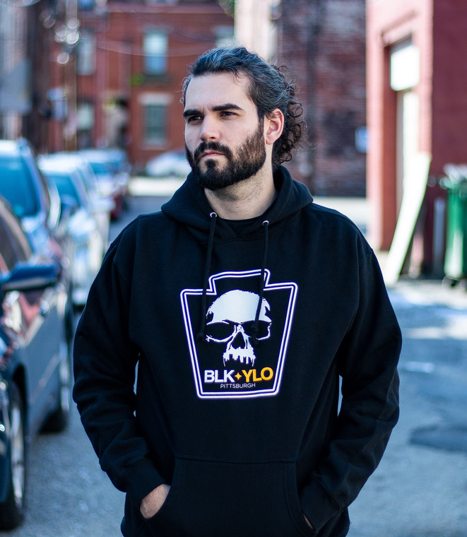 Official Skyline Skull Hooded sweatshirt