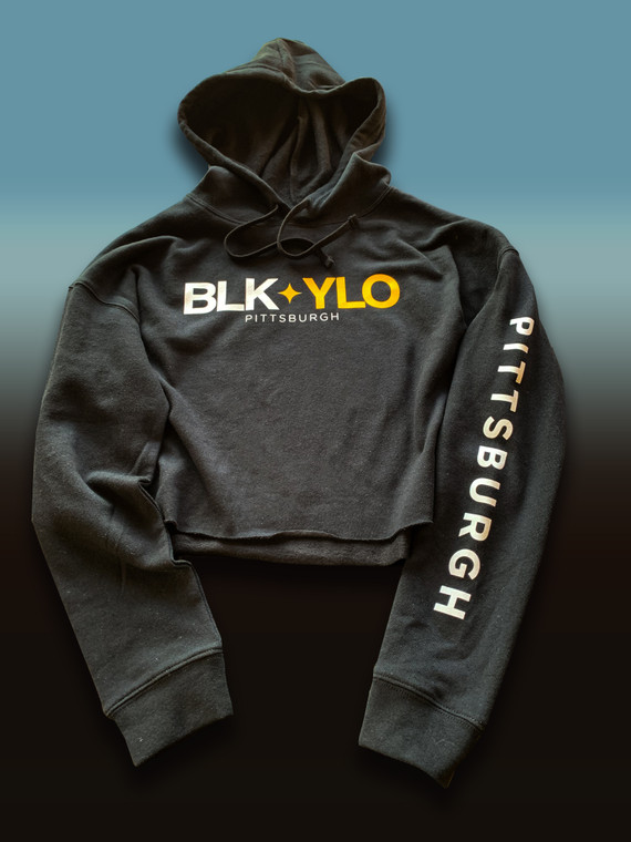 BLKYLO cropped hood